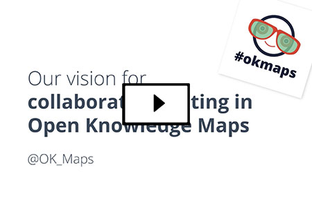 Vision for collaborative editing in Open Knowledge Maps